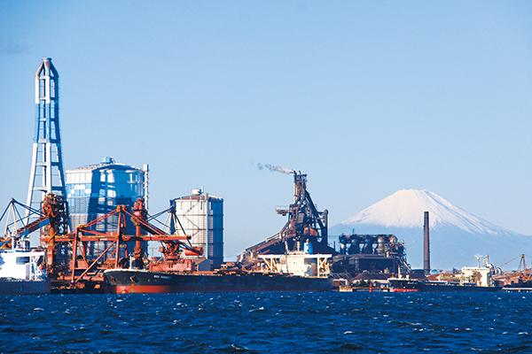 大規模な製鐵所